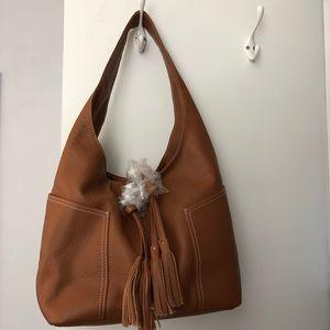Laggo Leather Havana Hobo Bag